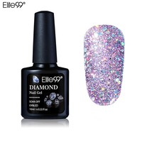 Elite99 10ML Diamond Nail Gel Glitter UV Gel Polish Manicure LED Sequins Gel Nail Soak Off Gel Nail Polish