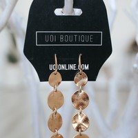 Hot Note Earrings