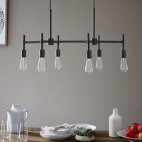 Industrial Chandelier - Rectangle