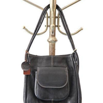 Fredd & Basha Westside Convertible Tote Backpack in Black