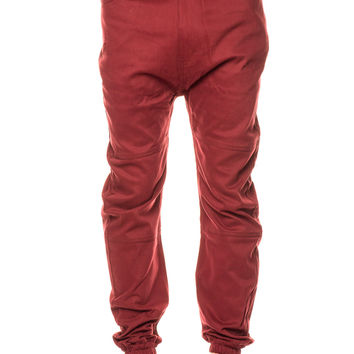 Publish Newton Twill Maroon Pant