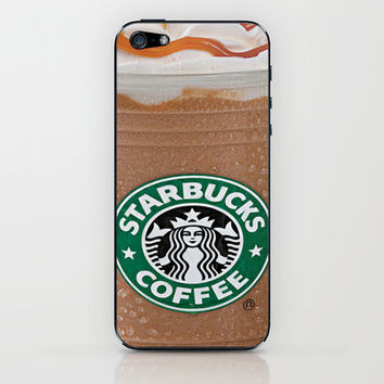 Starbucks Frappuccino iPhone & iPod Skin by Chase Keeling