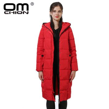 Parka Femme New Hairball Winter Jacket Women Thick Warm Female Cotton Padded Coat With Hood Casual Outwear