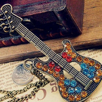 Ally's Guitar Necklace - 68649831-7