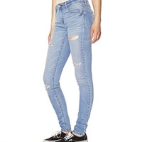Medium Distressed High Waist Jegging