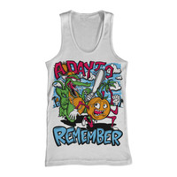 A Day To Remember: Orange You Glad Tank Top (White)