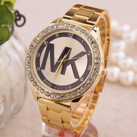 MK Michael Kors Fashion Women Men Quartz Watch Wristwatch
