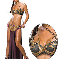 Halloween Costume: Adult Sexy Princess Leia Slave Outfit @ OdGirl.com - Sexy Lingerie, Sexy Clothing, Valentine?s High Heel Shoes, Dancewear, Clubwear, Gothic Apparel, Minidress, Bridal Lingeries, Short Skirt, Bikini, Swimwear, PVC Leather and Gowns