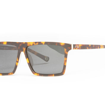Proof Cosmo Flat Tortoise Sunglasses, Polarized Lenses