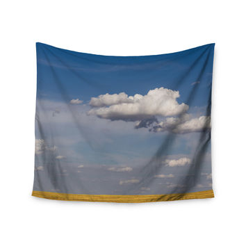 "Ann Barnes ""Big Sky"" Clouds Wall Tapestry"