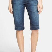 KUT from the Kloth 'Natalie' Stretch Denim Bermuda Shorts (Free)