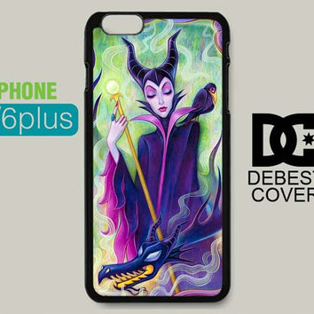 Disney Maleficent Sleeping for iPhone Cases | iPhone 4/4s, iPhone 5/5s/5c, iPhone 6/6plus/6s/6s plus