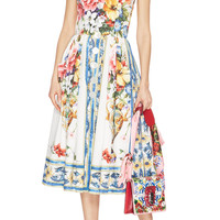 Printed Cotton Dress | Moda Operandi