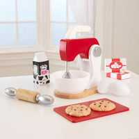 KidKraft Red & White Baking Set - 63372