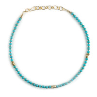 Penh Lenh Turquoise Bead Choker Necklace | Dogeared