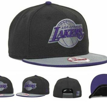 DCCKUN7 Los Angeles Lakers Nba Cap Snapback Hat - Ready Stock