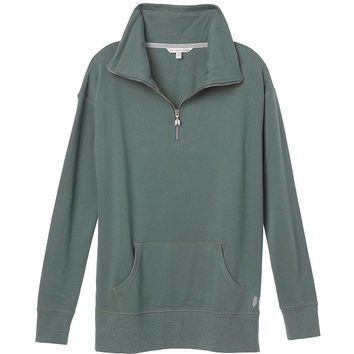 Zip Funnel-neck Tunic - Fleece - Victoria's Secret