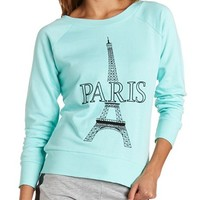 PARIS FRENCH TERRY SWEATSHIRT
