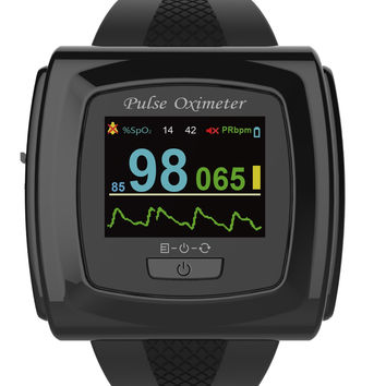 CMS 50F OLED Wrist Color Pulse Oximeter with Innovo® SnugFit probe