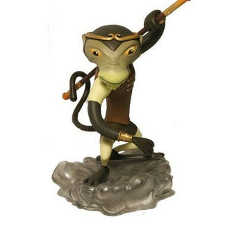 "2008 Nathan Jurevicius Munky King Monkey King Earth Brown Ver 8"" Vinyl Figure"