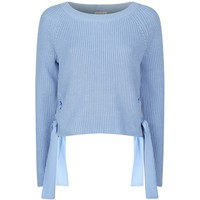 Claudie Pierlot Matelot Tie-Side Jumper | Harrods.com