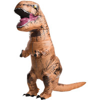 INFLATABLE Dinosaur T REX Costume Jurassic World Park Blowup Dinosaur Halloween I