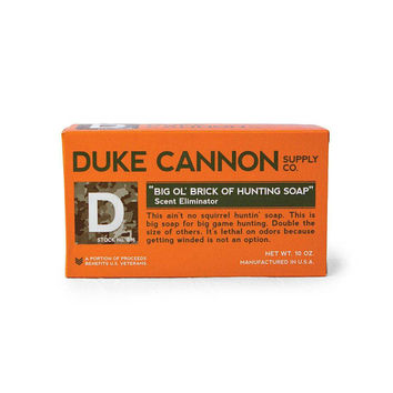 Duke Cannon Brick of Scent Eliminator Hunting Soap