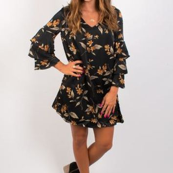 Black Boardwalk Dress