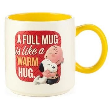 Hallmark Snoopy and Charlie Brown Ceramic Mug, 12 oz.
