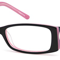 DALIX Childrens Cute Girls Hearts Glasses Frames Black Kids Prescription Eyeglasses 46-16-125