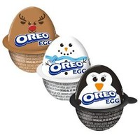 Milka or Oreo Christmas Egg - 1.19oz