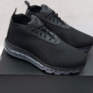 Nike NikeLab Men's Air Max Woven Boot Black 921854-002 Size 7.5
