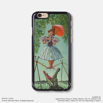 Haunted Mansion Painting iPhone Case Black Hard case 138