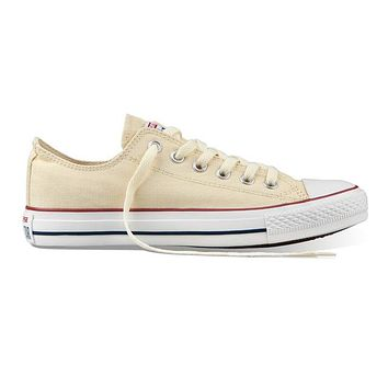 Beige Original Converse All Star Canvas Shoes