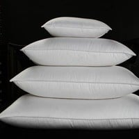 Micro-loft (synthetic filled down-like pillow)
