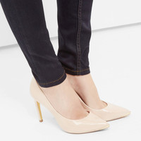 Pointed leather court shoe - Nude Pink | Shoes | Ted Baker