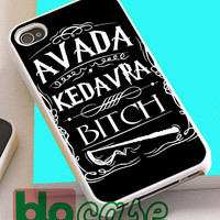 Avada Kedavra Bitch Harry Potter For Iphone 4/4s, iPhone 5/5s, iPhone 5C, iphone 6, and iPhone 6 Plus Case