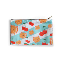 Fruit Cat Zip Up Case