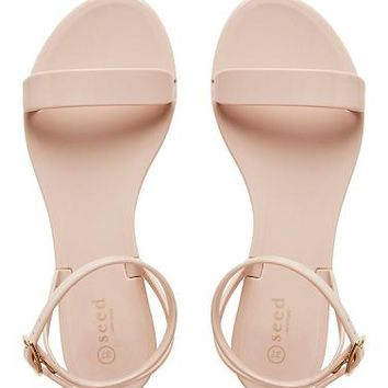 Womens Shoes | Tessa Strap Jelly Sandal | Seed Heritage