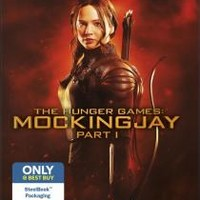 The Hunger Games: Mockingjay - Part 1 (Steelbook)(Blu-ray/DVD)(Ultraviolet Digital Copy)(Only @ Best Buy) (Blu-ray Disc)