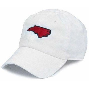 NC Raleigh Gameday Hat in White by State Traditions