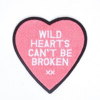 Glamour Kills Clothing - WILD HEARTS PATCH