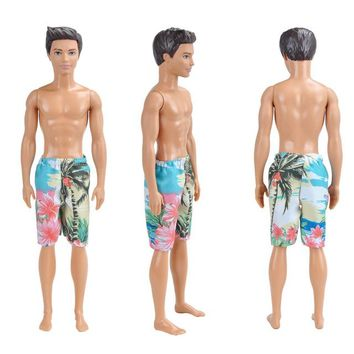 Swimming Pool beach E-TING Newest Doll Swimwear Summer Lifestyle Boys Ken Surfing Pants Beach Swimming Shorts For Barbie Clothes Toys AccessoriesSwimming Pool beach KO_14_1