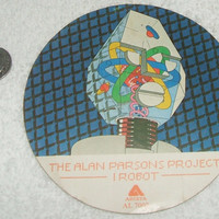Alan Parsons Project I Robot Vinyl LP Promo Sticker 1977 Arista 7002 Original MacBak Rare Classic Rock n Roll Music Memorabilia