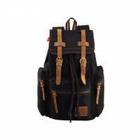 Canvas Rucksack Style Backpack