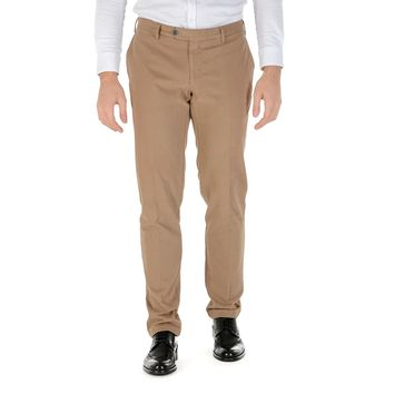Canali Mens Pants Brown