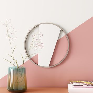 Dominika Geometric Cut Out Wall Mounted Mirror