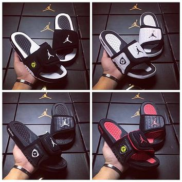 Nike Air Jordan 14 Men 4 Colors flip flop sandal