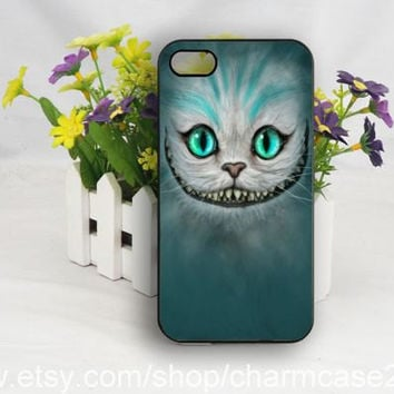 Chesire cat iPhone 4s case,Alice in wonderland iphone 6 case,samsung galaxy s3/s4/s5 case,iphone 4/4s case,iphone 5/5s/5c case,Personalized