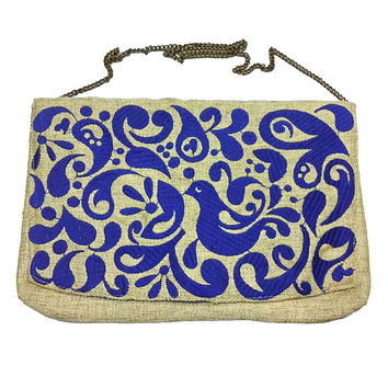 Easy Embroidery crossbody or clutch